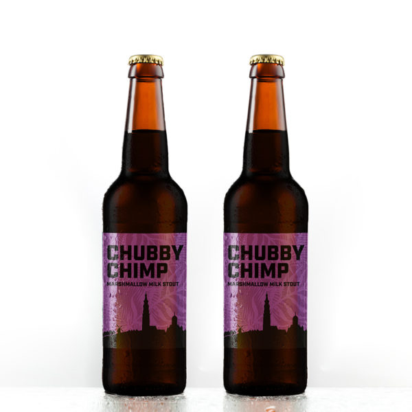Baardaapbrewing chubby chimp milk stout 6pack
