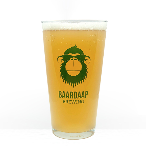 Baardaap Brewing bierglas