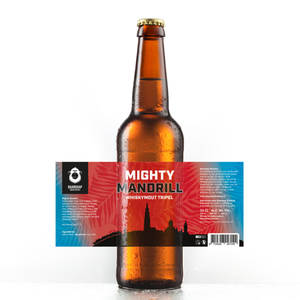 Mighty Mandrill Whiskymout Tripel